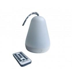 Lampka latarenka z pilotem biała Rabbit&Friends