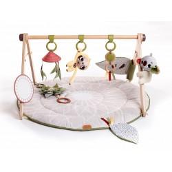 Gimnastyka dla bobasa z drewnianym stojakiem Boho Chic Tiny Love