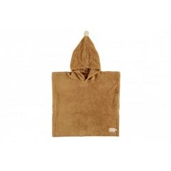 Ręcznik poncho So Cute caramel Nobodinoz