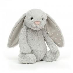 Królik Bashful Shimmer Bunny Jellycat