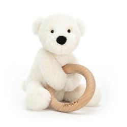 Gryzak i Grzechotka Miś Polarny Jellycat