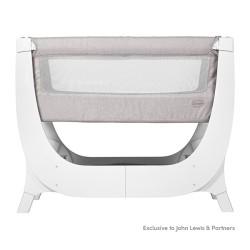 Łóżeczko dostawne AIR Bedside Crib Shnuggle STONE