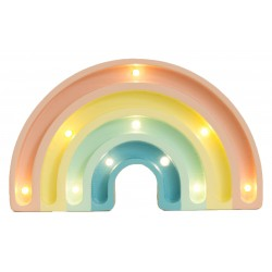 Lampa Little Lights tęcza mini pastelowa