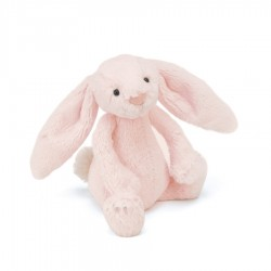 Króliczek Bashful Pink Bunny Rattle
