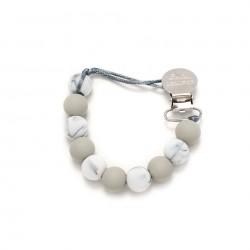 Zawieszka Color Block Marble Grey