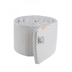 Ochraniacz 350cm Happy Dots White
