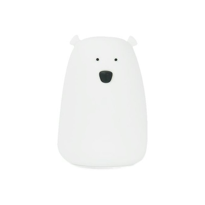 Lampka Miś duży biały