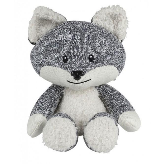 Uspokajający Lisek Robin the Fox szary