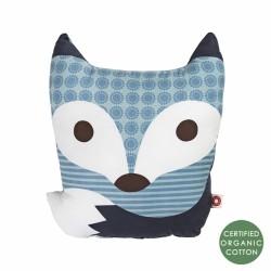 Poduszka Rufus niebieski lis