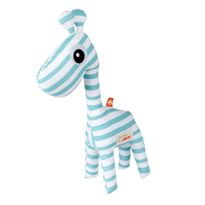 Przytulanka Done by Deer Zoopreme Żyrafa niebieska