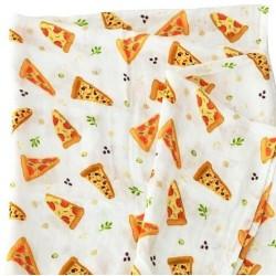 Otulacz Muślina bambusowa Pizza