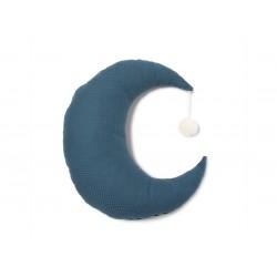 Poduszka Nobodinoz Pierrot Moon night blue
