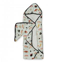 Muślinowy ręcznik kąpielowy  Sushi
