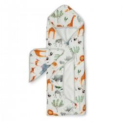 Muślinowy ręcznik kąpielowy Safari