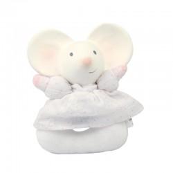 Myszka Meiya organiczny gryzak grzechotka