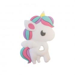 Gryzak silikonowy Rainbow Unicorn