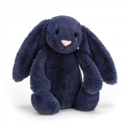 Króliczek Bashful Navy Bunny