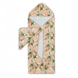 Muślinowy ręcznik kąpielowy Blushing Protea