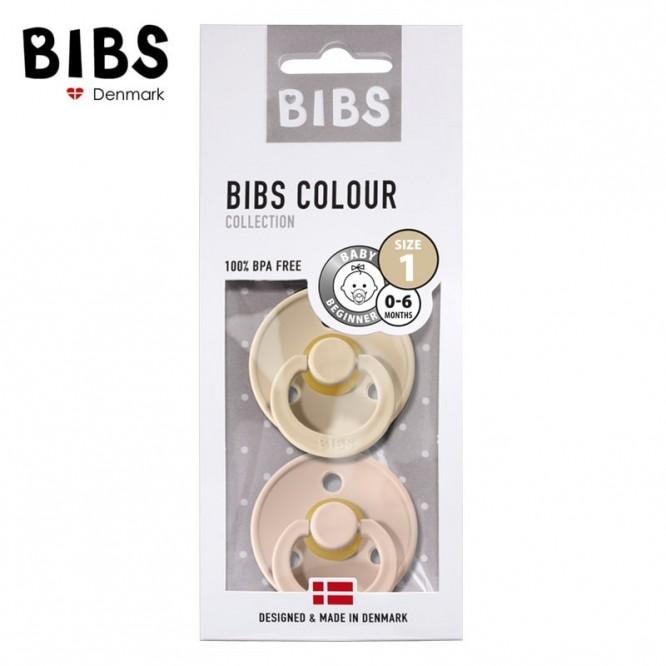 BIBS Dynamiczny smoczek uspokajający HEVEA Blush