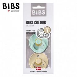 2 Pack BIBS Colour S Mint & Beige