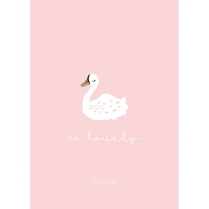 Obrazek 30 x 42 Pink Swan