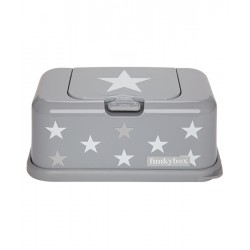 Pojemnik na chusteczki White Silver Star