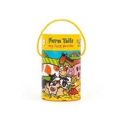 Moje Pierwsze Puzzle Farma Jellycat