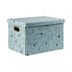 Pudełko Contour Składane Blue Done by Deer