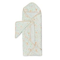 Muślinowy ręcznik kąpielowy Bunny Meadow Loulou Lollipop