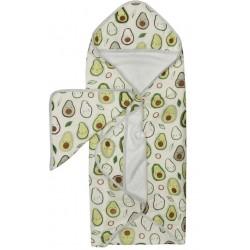 Muślinowy ręcznik kąpielowy Rosey Bloom Loulou Lollipop