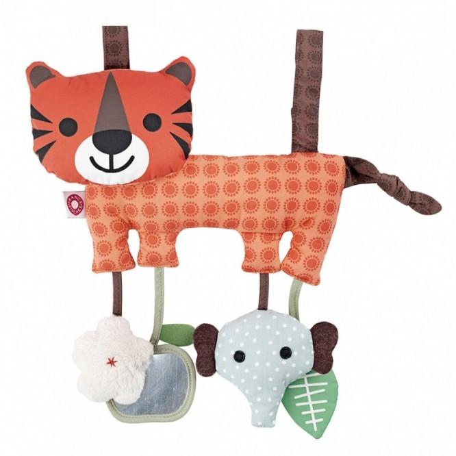 Zabawka pomarańczowy tygrys Hasse