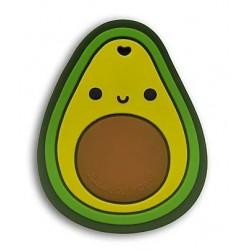 Gryzak silikonowy z zawieszką Avocado