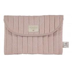 Kosmetyczka Bagatelle misty pink Nobodinoz