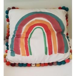 Poduszka Tiny Bubbles Rainbow 50cm