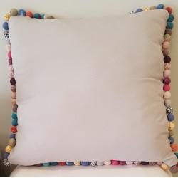 Poduszka Szara Tiny Bubbles 65cm