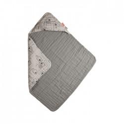 Ręcznik z Kapturem Grey Done by Deer Sea